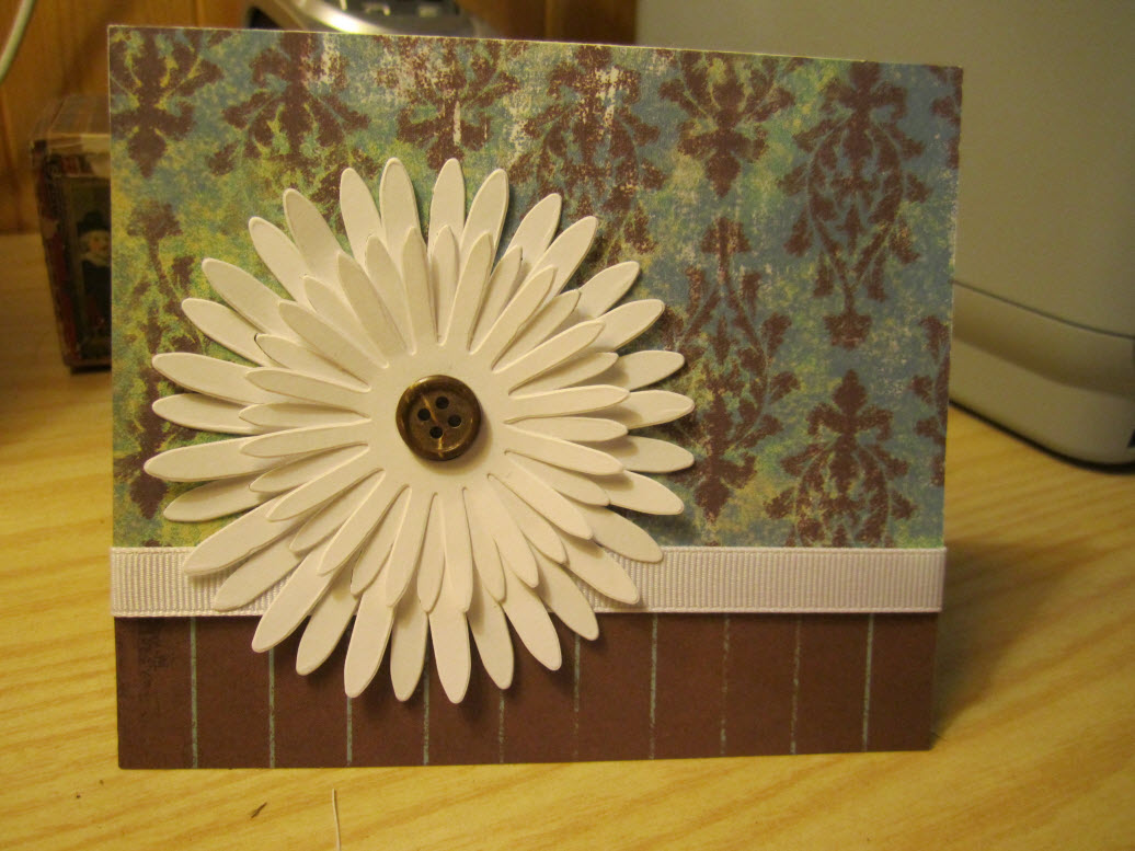Greeting cards ma image of paper daisy greeting card m4hsunfo